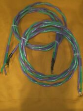XLO ELECTRIC REFERENCE TYPE 5 SPEAKER CABLES *3 METER PAIR* WITH SPADES *$1400*
