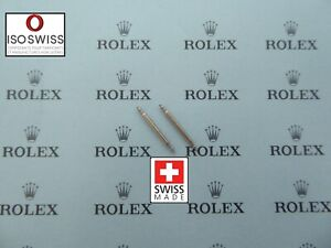 Top Quality ISO Swiss Made S/S Spring Bars for Rolex 12-24mm Ø1.5mm Ø1.8mm