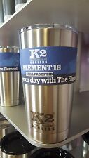 K2 Element 18 Stainless Steel Tumbler w/ Lid - NEW