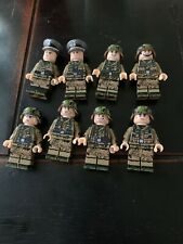 ww2 Military soldiers. Compatible With LEGO