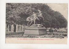 Bruxelles Le Dompteur de Chevaux Avenue Louise Belgium Vintage U/B Postcard 548b