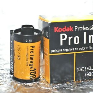 *BEST PRICE* 5 rolls Pro-pack - Kodak Pro Image 100 35mm film
