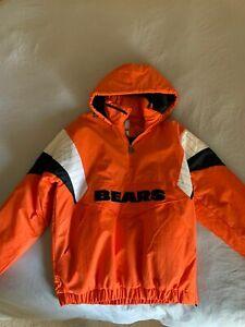 Chicago Bears Starter 1/4 Zip Pullover Jacket Men's Medium New