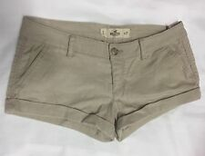 Hollister Patternless Hot Pants Low Rise Shorts for Women