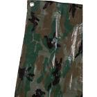 Roughneck 3-Oz. Heavy-Duty Green Camo Poly Tarp - 12ft. x 20ft.