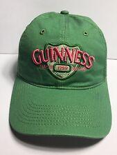 Guinness Beer Dublin Ireland 1759 Cap Hat Adjustable 100% Cotton