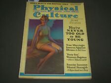 1929 JUNE PHYSICAL CULTURE MAGAZINE - GREAT ILLUSTRATED COVER - SP 8582