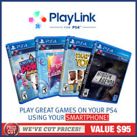 Playstation 4 Playlink PS4 Pack 4 Games Singstar Hidden Agenda Knowledge Power