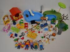 33 ) Playmobil 7 Figuren -  viele Teile Zubehör Pool Spielhaus Gartenmöbel ua.