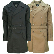 Cotton Military Double Breasted Coats & Jackets for Men