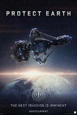 Enders Game Protect Earth Next Invasion Space Ship Alien Movie Poster - 24x36