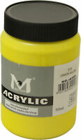 1000 ml Magi Künstler Acrylfarbe lemon yellow 215