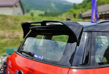 Pop 2Pcs Carbon Rear Roof Spoiler Countryman DU-AG Style For BMW Mini Cooper R60