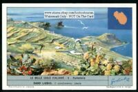 Island Of Pantelleria Italy  c50 Y/O Trade Ad  Card: