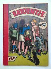 Kapoentje album 037 1958 Ridder Reinhart aankondiging