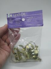 """Levolor 7/8"""" Clip-on Rings Contains 14"""