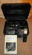 Working Sony CCD-V701 Hi8 Handycam Video Camera Recorder with Manual in Case !!