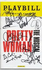 PRETTY WOMAN cast signed (THE MUSICAL) Playbill *BROADWAY* BARKS KAZEE W/COA #1