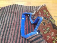 "Antique 1920-1940s Cushion Cover Face Rug 1'6""x2'6"" Sivas Province"