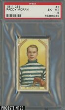 1911 C55 Hockey #1 Paddy Moran PSA 6 EX-MT