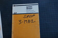 CASE 3330 SERIES CARRYDECK CRANE Owner Operator Maintenance Manual book guide