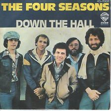 """THE FOUR SEASONS 7""""PS Spain 1977 Down the hall"""