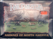 Ral Partha - Animals of North America - Box mit 10 Tieren (darunter 3 Bären)