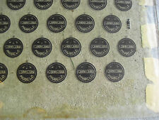 Rare 1950s Glass Cervereria Modelo Beer Bottle Cap Factory Printing Plate