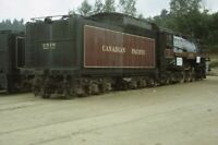 CP 2816 CANADIAN PACIFIC Railroad Steam Locomotive 1967 Original Photo Slide