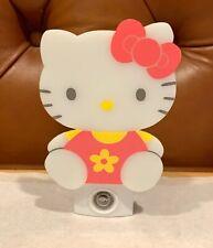 Vintage 1999 Hello Kitty Night Light Character Logo Sanrio