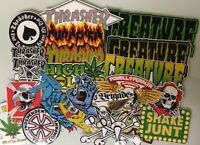 Skate Sticker Pack - Powell Peralta Santa Cruz Skateboards Thrasher Magazine
