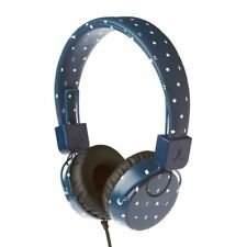 """Wesc Cuffie """"Piston Abstract Meda"""", Blu per dj ipod ipad iphone android NUOVE"""