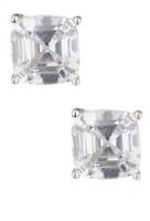 Nordstrom Rack Womens 4 CTW Asher CZ Stud Earrings 0706