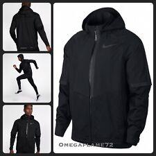 Nike AeroShield Hooded Waterproof Running Jacket, 857805-010, Sz L, RRP £259