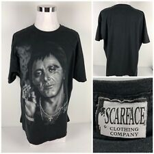 Scarface Vintage Mens 2XL Shirt Black 100% Cotton Say Goodnight To The Bad Guy