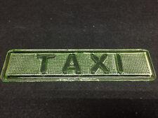 Green Vaseline TAXI glass Light Lens car truck signal uranium traffic tail lamp