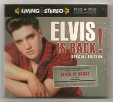 """ELVIS PRESLEY 2 CD """"ELVIS IS BACK! SPECIAL EDITION"""" 2012 VICTROLA SUCH A NIGHT +"""