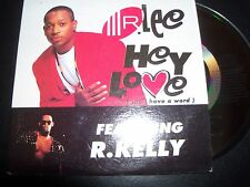 Mr Lee Feat R Kelly Hey Love (Can I Have A Word) Australian Card Sleeve CD Singl