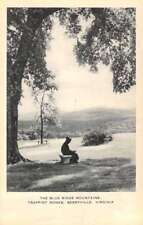 Berryville Virginia Trappist Monks Blue Ridge Mountains Antique Postcard K82676