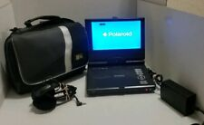 Portable DVD Player TFT-LCD Polaroid PDM-0822BD Swivel Display W Case Tested