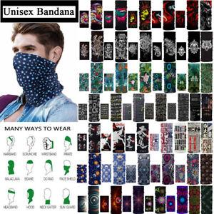 Headband Face Mask Cover Neck Gaiter Tube Scarf Bandana Shield Balaclava Outdoor