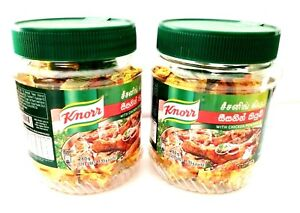 KNORR Chicken Seasoning Stock 10g x 28 Cubes with Free Container - Sri Lanka