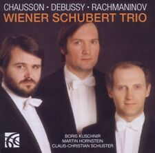 Wiener Schubert Trio - Wiener Schubert Trio Performs Chausson, Debussy & ...