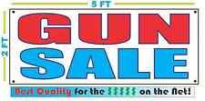 GUN SALE Banner Sign NEW Larger Size Best Quality for The $$$