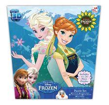 Disney Frozen Fever * 3D Puzzle * 4 x 24-teilig * Eiskönigin Elsa Anna * NEU