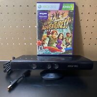 Microsoft Xbox 360 Kinect Motion Sensor Bar Black & Kinect Adventures Bundle!!