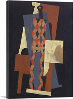 ARTCANVAS Harlequin 1915 Canvas Art Print by Pablo Picasso