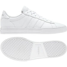 adidas Daily 2.0 White Grey Men Classic Casual Lifestyle Shoes Sneakers BB7187