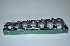 SK 3958 Socket Set,3/8 Dr,Metric,12 Pt  Points Standard Length ,18 Pc metal case