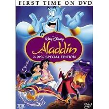 Aladdin (DVD, 2004, 2-Disc Set, Platinum)  Disney  w/Original Insert & Slipcover